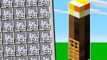 我的世界:制作一根能无限刷骨粉的火把