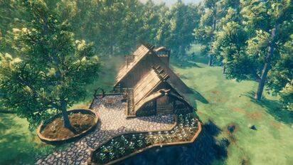 [Valheim]英灵神殿如何建一个带地窖的家