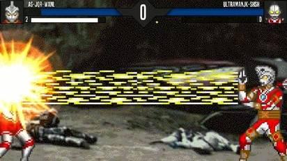 Mugen艾斯机器人-无限能量(人物分享)vs奥特四兄弟!
