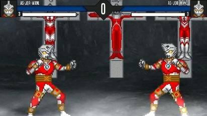 Mugen艾斯机器人虚假的伤害vs艾斯/艾斯杀手