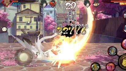 火影忍者秋风,仙人兜配新版气旋,这强度更上一层楼!