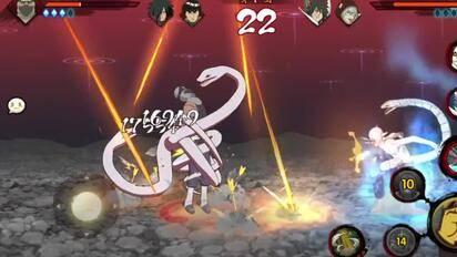 火影忍者秋风,仙人兜实战,偶遇某音选手,这新忍者强度可以的!
