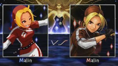 【Mugen】拳皇:马琳 VS 马琳